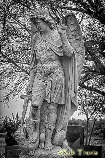 Magnolia Cemetery. Dragon Slayer.