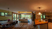 Panorama of Dining/Living Room