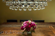 Detail Shot - Dining Room Table and Light Feature