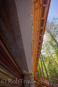 Detail Shot - Ground Level Soffit shot